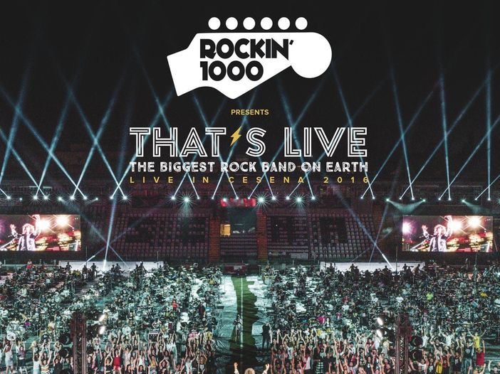 "That's live: le canzoni dei Rockin' 1000: ""Gold on the ceiling"""