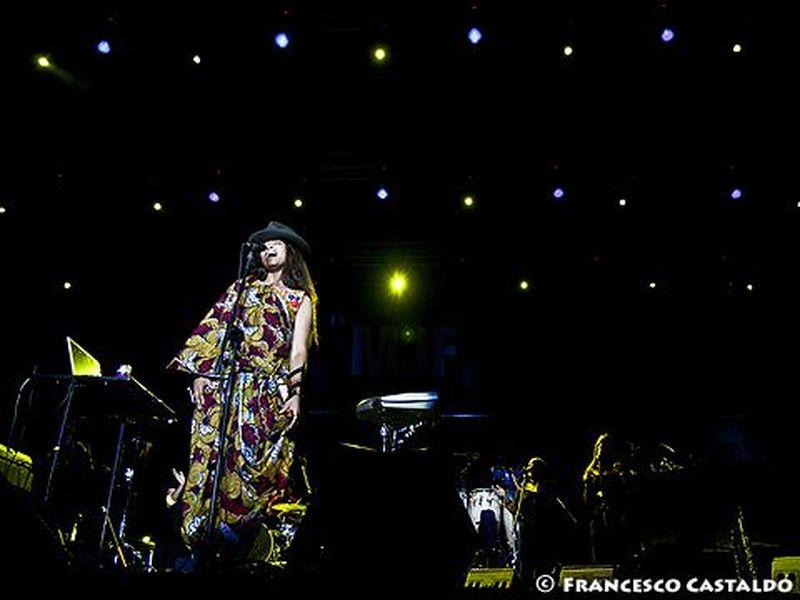 21 Luglio 2011 - Arena Civica - Milano - Erykah Badu in concerto