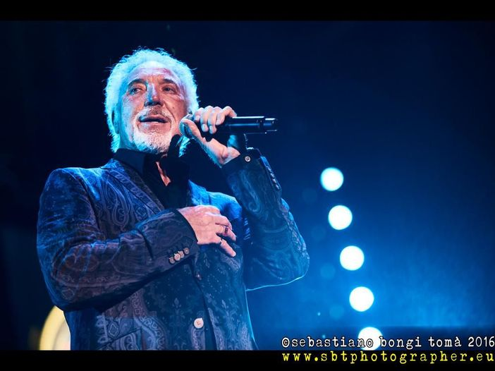 Tom Jones: data unica in Italia a luglio