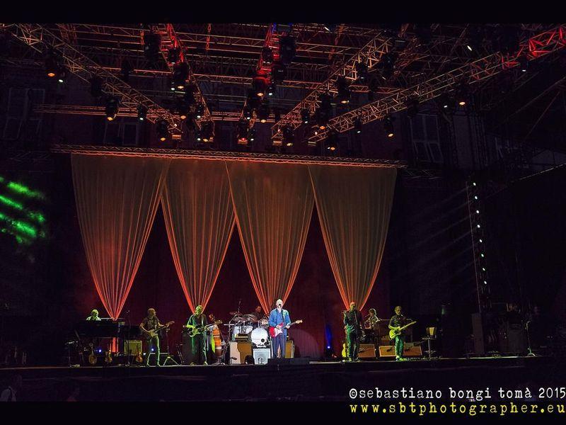 22 luglio 2015 - Lucca Summer Festival - Piazza Napoleone - Lucca - Mark Knopfler in concerto