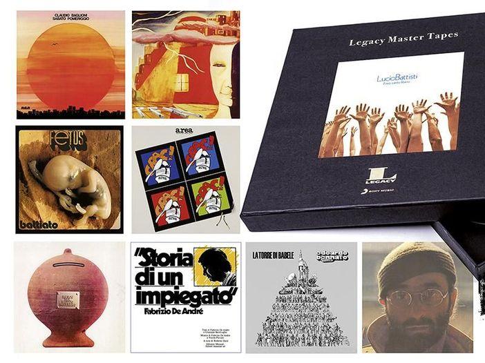 """""""Legacy Master Tapes"""", dischi italiani storici su bobina di nastro"""
