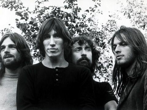 Murale con i Pink Floyd alla Royal Albert Hall di Londra - FOTO
