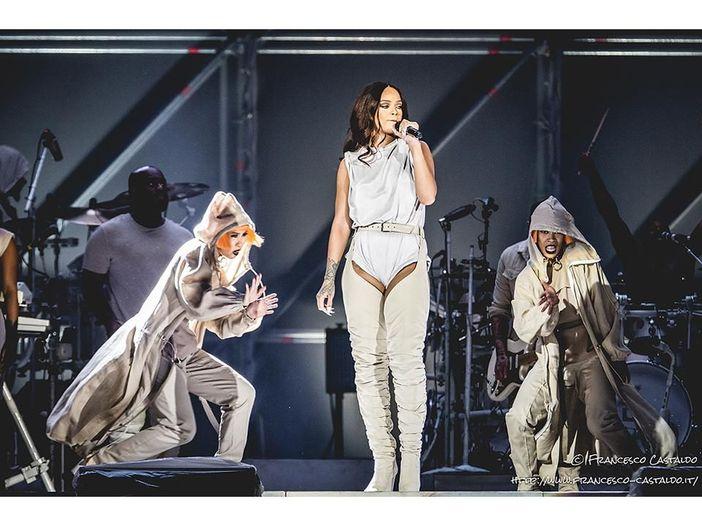 Rihanna live a Milano: la diretta in live blogging del concerto - FOTO, REPORT