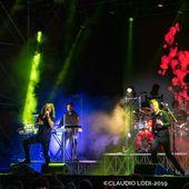 7 luglio 2019 - Rock in Roma - Ippodromo delle Capannelle - Roma - Haken in concerto