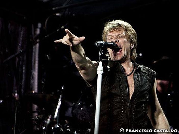 Londra, i Bon Jovi suonano ad Hyde Park