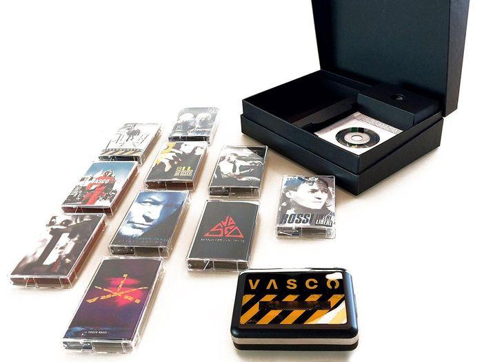 Vasco Rossi: esce il 9 giugno un cofanetto con 10 musicassette in edizione limitata