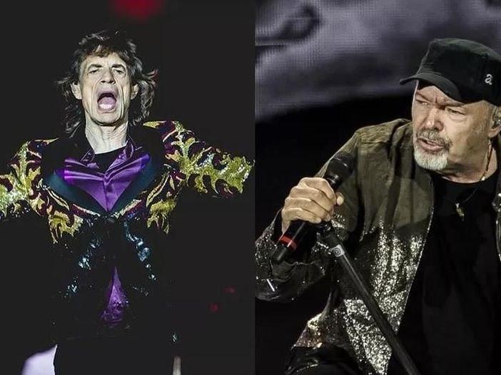 1990: Vasco Rossi dice no ai Rolling Stones