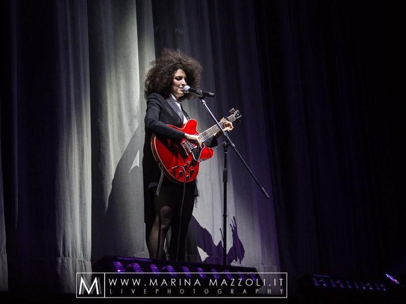 9 dicembre 2016 - Teatro Ariston - Sanremo (Im) - Marianne Mirage in concerto