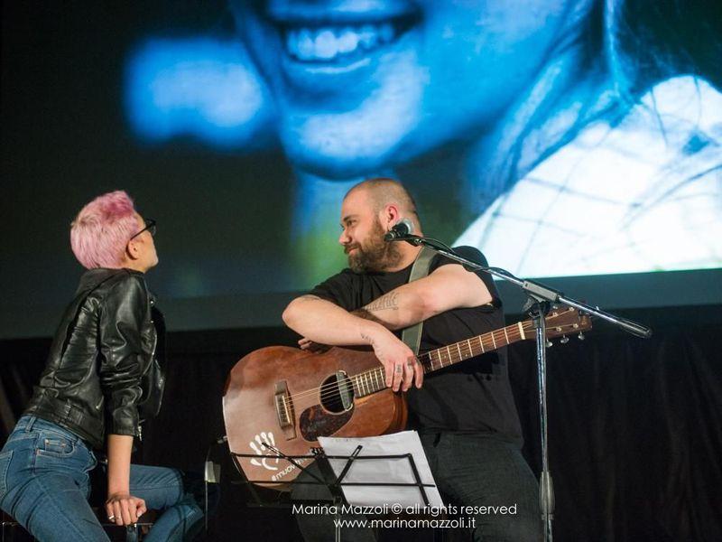 27 aprile 2017 - Palazzo Ducale - Genova - 'It's only rock'n'roll' Elodie & Zibba