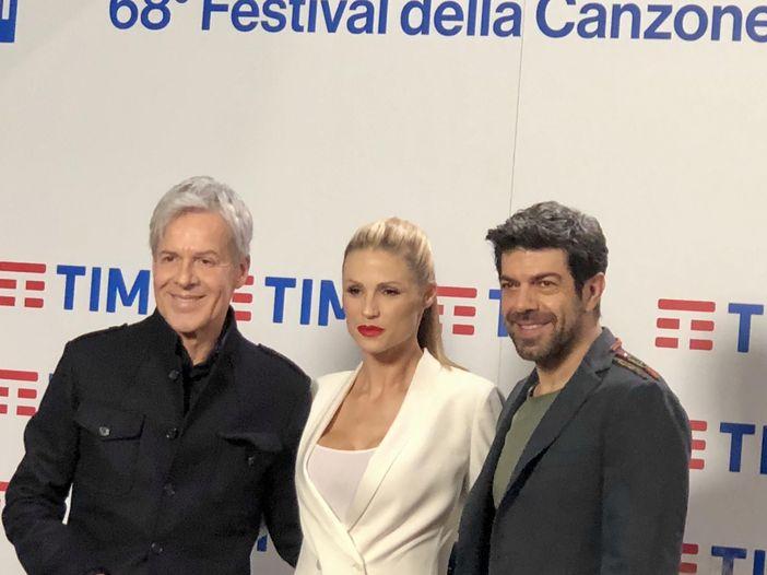 Sanremo 2018, la conferenza stampa di giovedì 8 febbraio