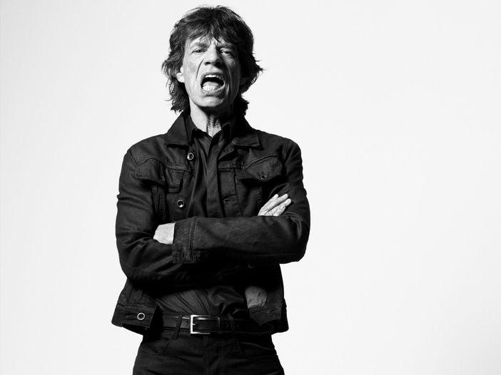 Mick Jagger come Franco Battiato