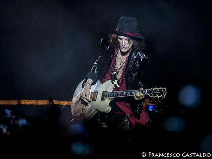 Aerosmith, il concerto di Firenze: prime foto. GUARDA