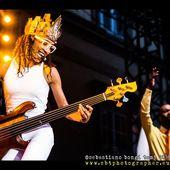 13 luglio 2016 - Lucca Summer Festival - Piazza Napoleone - Lucca - Esperanza Spalding in concerto