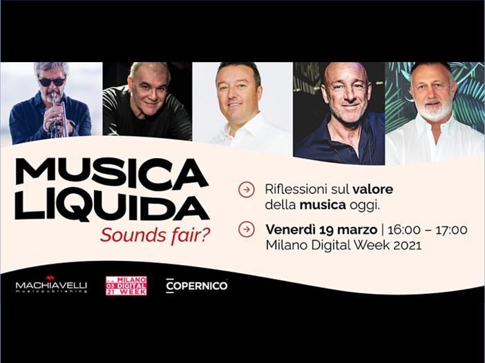 """Musica liquida: sounds fair?"": come partecipare al webinar"