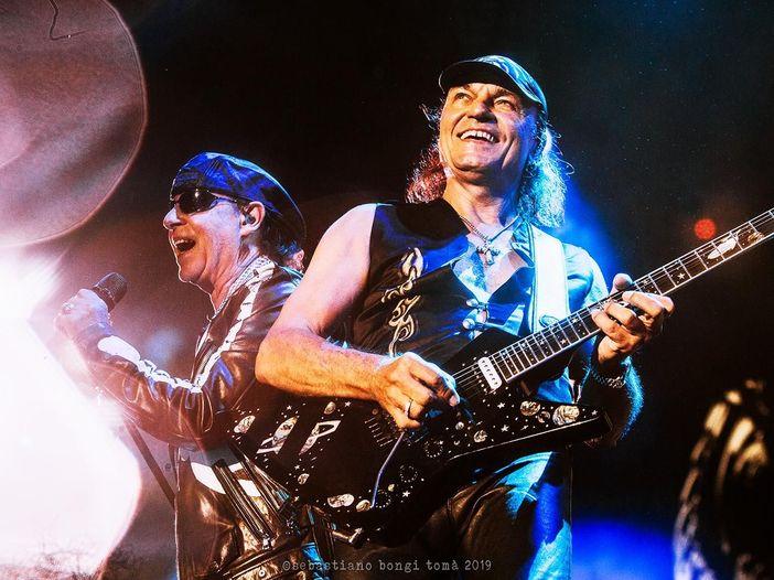 Scorpions: annunciato un concerto all'Arena di Verona, nel 2022