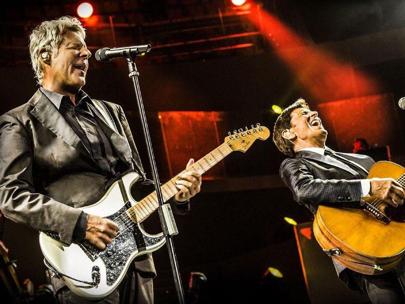 10 settembre 2015 - Centrale Live - Roma - Claudio Baglioni e Gianni Morandi in concerto