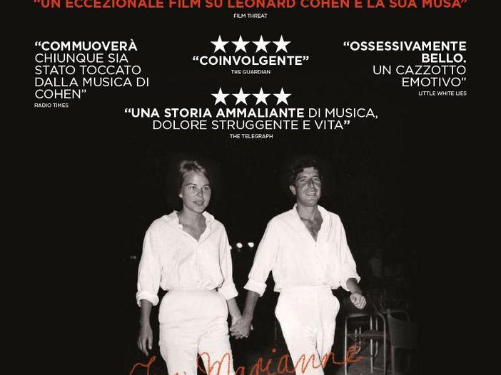 """Guarda il trailer del film """"Marianne & Leonard. Parole d'amore"""""""