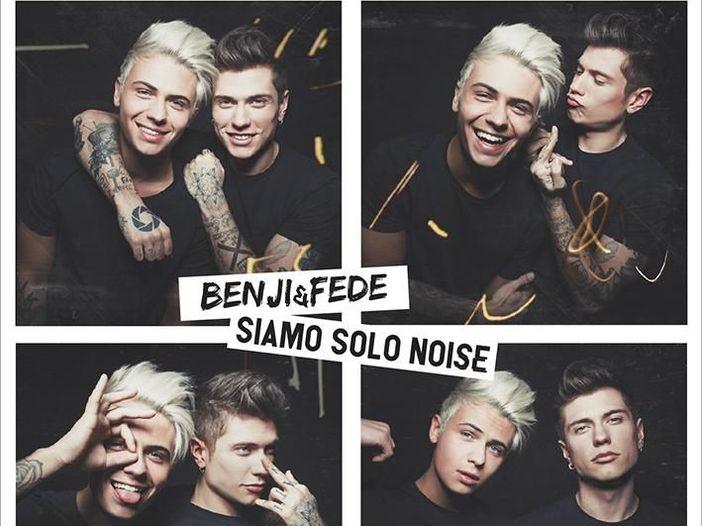 Benji & Fede, esce il 2 marzo 'Siamo solo noise': 'Cos'è la musica se non solo rumore?'