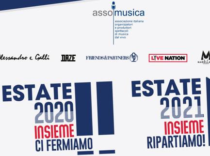 Tutti i concerti dell'estate 2020 rimandati al 2021