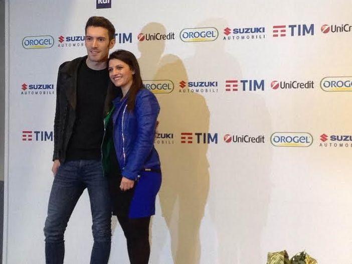 Sanremo 2016, Giovanni Caccamo e Deborah Iurato in sala stampa: 'Siamo i favoriti? E' già tanto essere qui'
