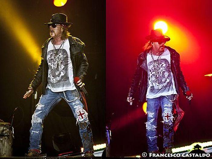 Angus Young torna per la seconda sera sul palco dei Guns N' Roses: i video