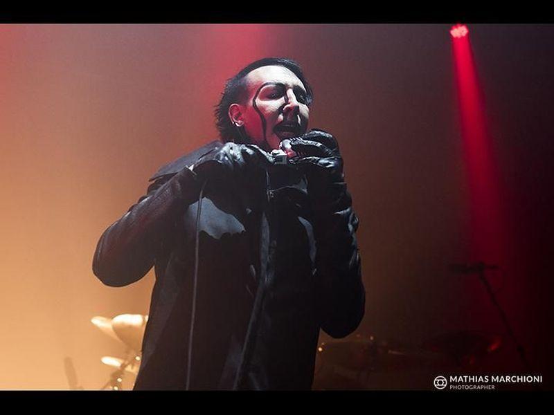 9 novembre 2015 - ObiHall - Firenze - Marilyn Manson in concerto