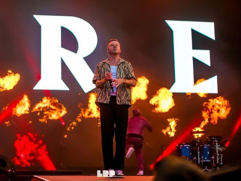 10 agosto 2019 - Sziget Festival - Budapest - Macklemore in concerto