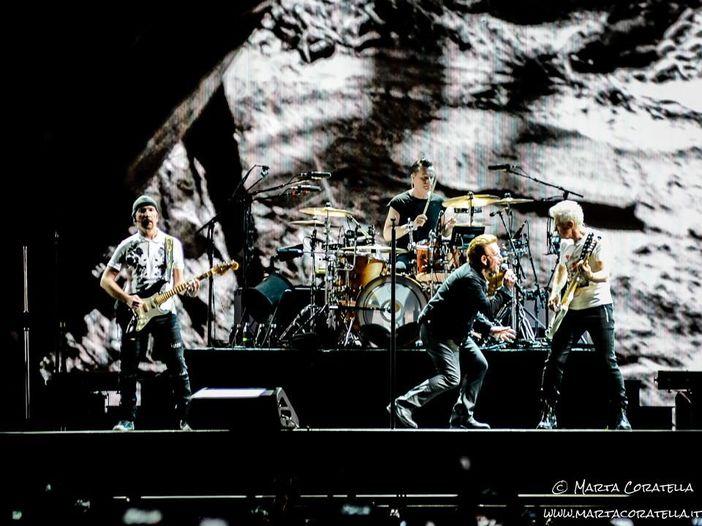U2: i video del secondo concerto allo stadio Olimpico di Roma - GUARDA