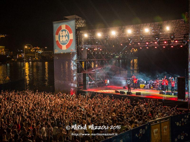 8 luglio 2015 - Goa Boa Festival - Porto Antico - Genova - Jimmy Cliff in concerto