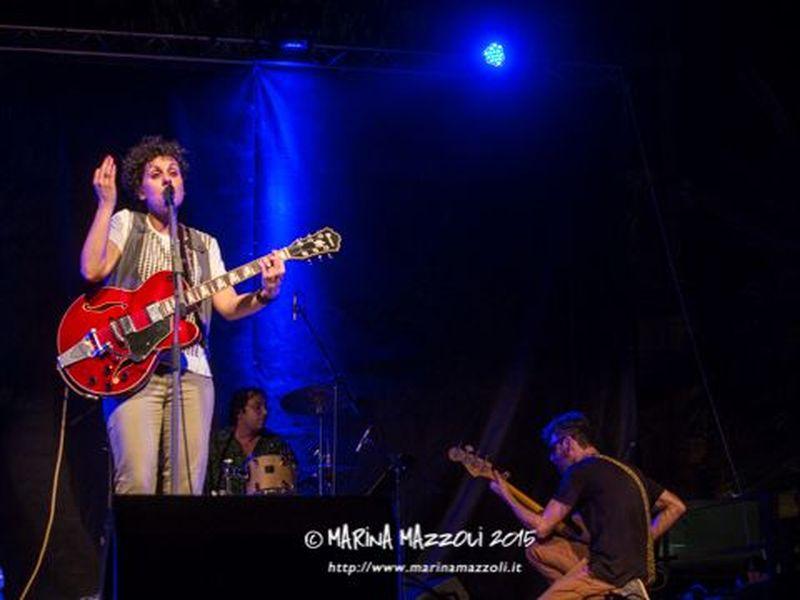 5 luglio 2015 - Anfiteatro Umberto Bindi - Santa Margherita Ligure (Ge) - Cristina Nico in concerto