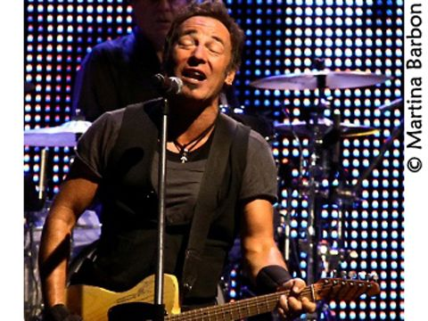 Springsteen suona 'Jump' dei Van Halen live - video