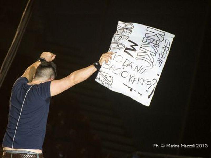 3 maggio 2013 - 105 Stadium - Genova - Modà in concerto