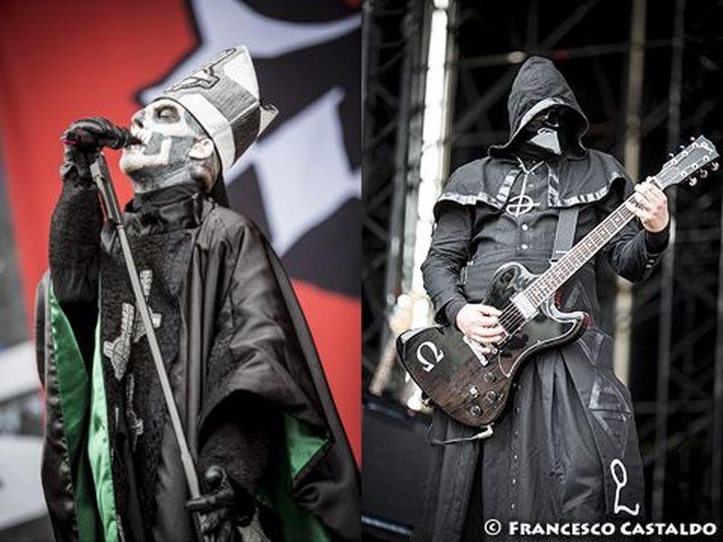 8 giugno 2013 - Sonisphere Festival - Arena Concerti - Rho (Mi) - Ghost in concerto