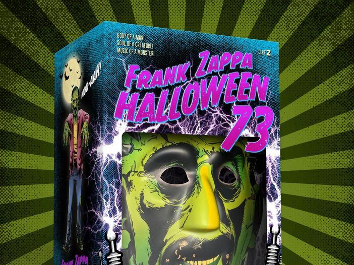 Frank Zappa, esce il cofanetto 'Halloween 73': la tracklist