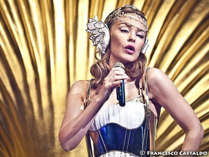 Kylie Minogue lancia una linea di intimo