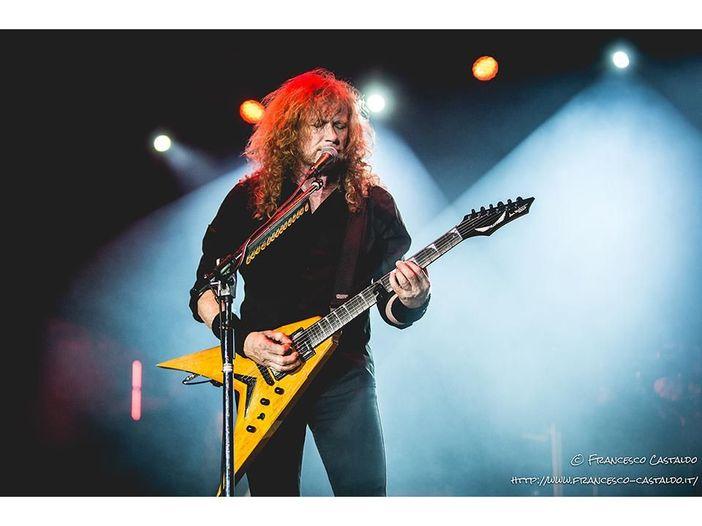 Dave Mustaine sta meglio: i Megadeth saranno in Europa nel 2020