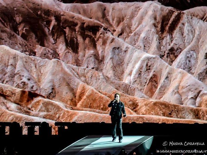 U2 allo Stadio Olimpico di Roma, la diretta - SCALETTA/FOTO