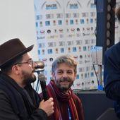 Lo Stato Sociale a il Tè con l'artista di iCompany e Rockol a Sanremo