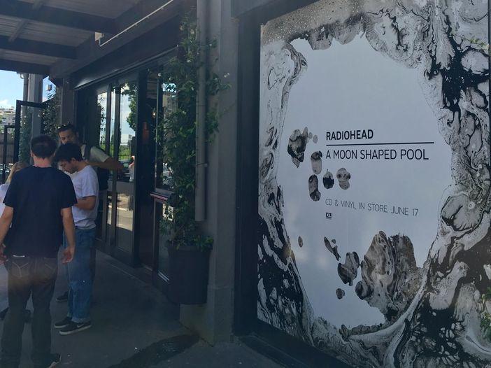 "Radiohead, il lancio di ""A moon shaped pool"" a Milano"