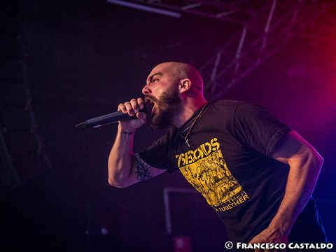 April 25 th, 2013 - Magazzini Generali - Milano - Killswitch Engage in concert