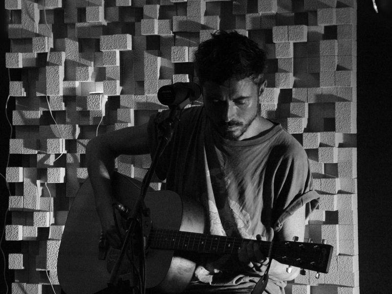 Helsinki (Drew McConnell) live @ Tup Studio, Brescia, 07/10/2015