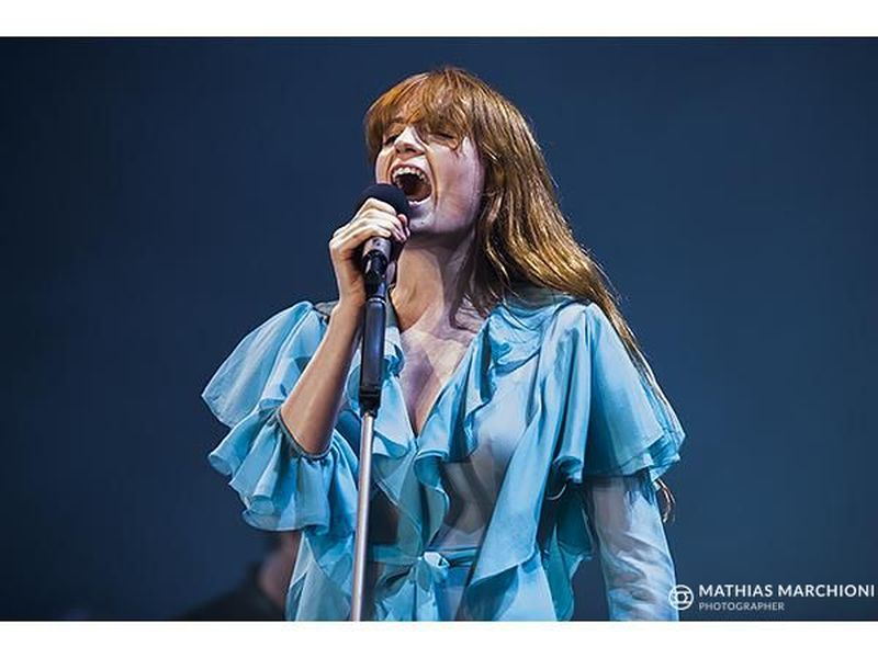 13 aprile 2016 - Unipol Arena - Casalecchio di Reno (Bo) - Florence and the Machine in concerto
