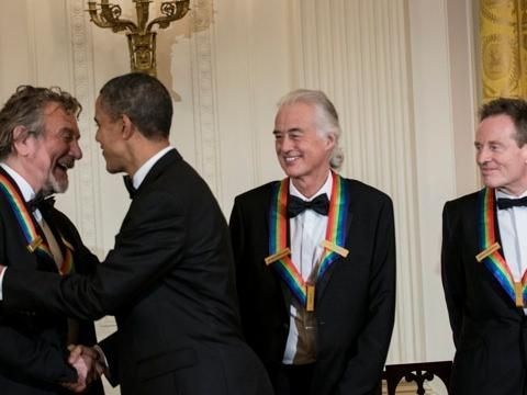 Led Zeppelin Obama Kennedy Center Honors