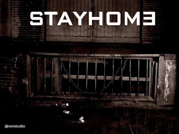 """""""Stay Home"""": le copertine rivisitate per il lockdown"""