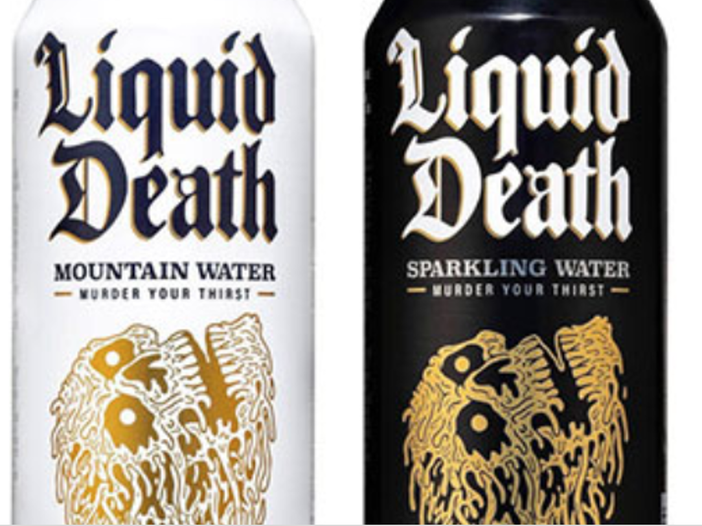 Live Nation investe in Liquid Death