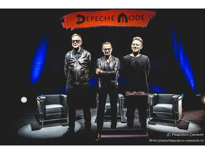 """I Depeche Mode a Milano presentano album e tour: """"Siamo grati di essere qua"""""""