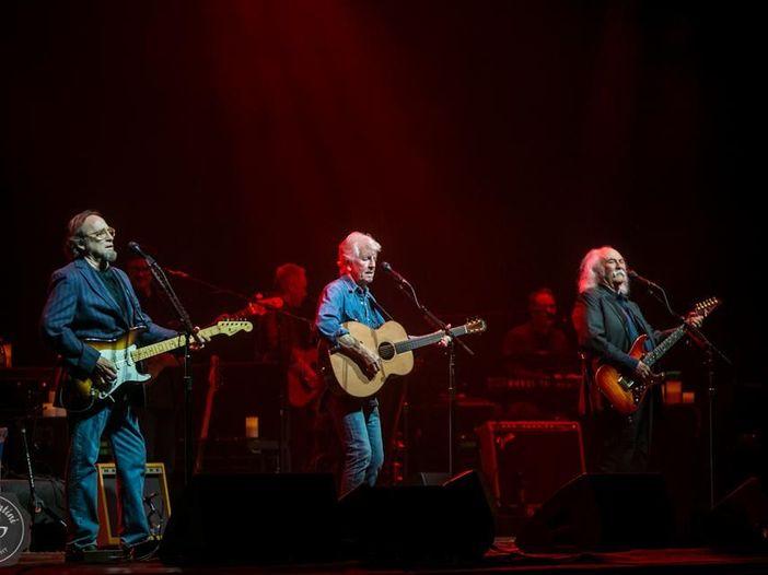 Concerti, Crosby, Stills & Nash: tre date in Italia a luglio