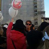 FlashMob in Piazza Santa Maria Novella a Firenze il 17 gennaio 2016