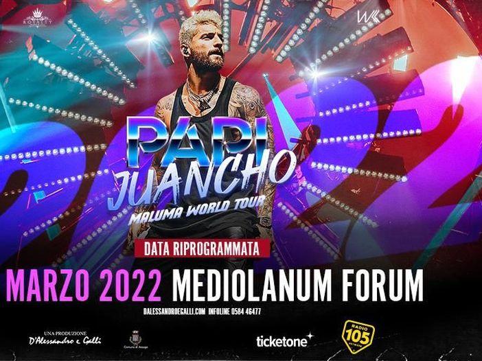 Maluma: il concerto di Milano rinviato a settembre