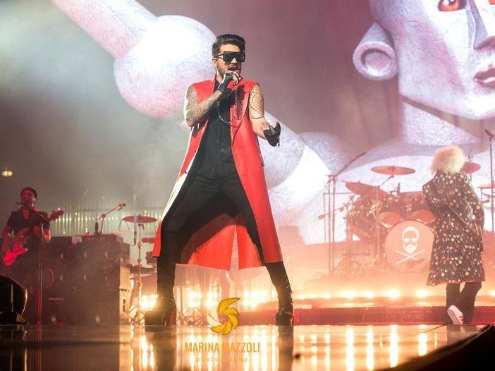 Queen + Adam Lambert, video e scaletta della prima tappa del tour